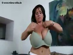 big tits milf big boobs hot brunette horny