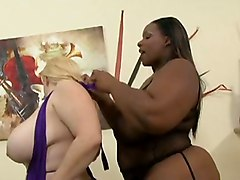 Crystal Clear Bunny Cruz BBW LesbiansLesbian Big Boobs BBW Toys