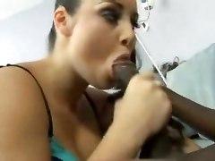 Black Cock Covering In Cum White Ass