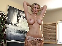 wife  housewife  mature  milf  blonde  busty  big tits  tease  undress  dress off  blowjob  facial Julia Ann