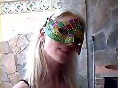 Girl In Mask Hard Fucking