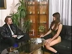brunette blowjob european german milf anal hardcore skinny riding doggystyle tight cumshot facial reality