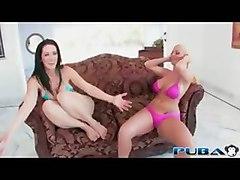 pornstar threesome big tits ass cumshot hardcore