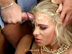 bukkake group compilation cumshot