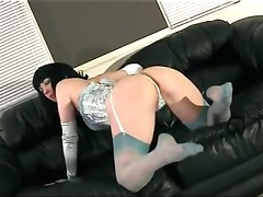 ass brunette cameltoe fetish lingerie milf mom panties softcore stockings teasing wife solo masturbation