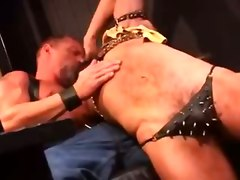 gay cum bdsm leather
