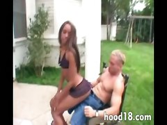 ebony teen petite mmf pussy licking blowjob skinny gangbang double penetration