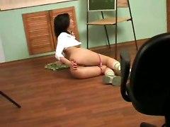 hidden cam college solo girl masturbation brunette