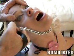 bdsm hot blonde anal sex cum hardcore sex