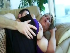 mom ass fucked couch busty fishnets mature