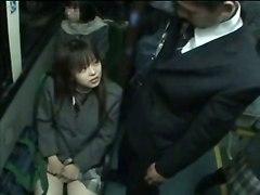 japanese schoolgirl pussy train teenie