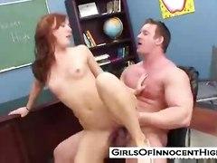 sex teen hardcore tits petite blowjob skinny redhead small schoolgirl teacher car oral classroom jensen dani