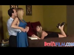 threesome blowjob teen