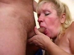 cock riding blowjob chubby mature