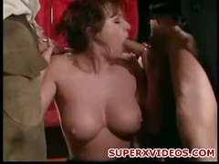 sex pussy huge blowjob brunette suck mature fuck mouth threesome cocks dick gangbang oral horny with in her two kylie ireland