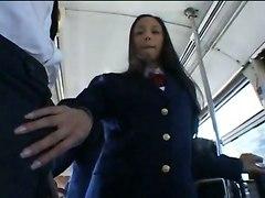 schoolgirl japanese public teenie blowjob skinny