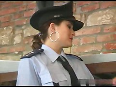 prison guard anal police
