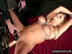machine dildo toys vibrator fetish big tits blonde milf bondage orgasm wet