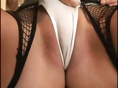 small tits cameltoe brunette fishnet tattoo panties ass licking doggystyle stockings anal heels blowjob handjob deepthroat tight riding couch facial swallow