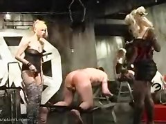 BDSM Group Sex Stockings