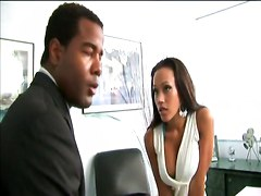 Ass Butt Booty Office Freaks Anal Amile Waters Hardcore Anal Ebony Babes