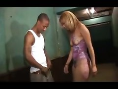 black ebony dirty ugly whore spanking doggystyle riding huge butt bodypaint ass