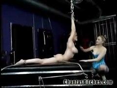 BDSM Lesbians Bondage Asian Wax Anal Strapon Whips Sadism Masochism Domina Slave Training Mistress Candles