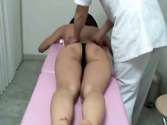 ass oiled asian flexible massage kinesiologa kine