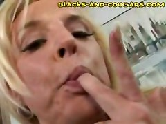 milf blonde big tits mom interracial ebony big dick