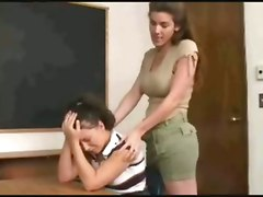 lesbian teacher seduces her young pupil