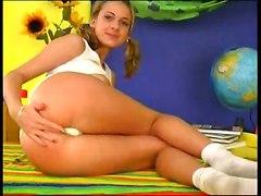 masturbation teen girl dildo pussy big tits