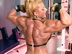 Fbb Muscle Woman Bodybuilder Heat Huge ClitSolo Other Fetish Extreme Bizarre