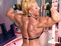 Fbb Muscle Woman Bodybuilder_heat_39  Huge Clit