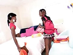 lesbian pussy licking black ass asslicking ebony booty strapon titties blackass lacey duvalle