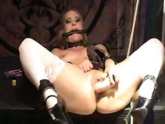 blonde lingerie stockings fetish bdsm masturbation solo spanking teasing slave striptease pigtails schoolgirl oil toys dildo big tits anal fingering squirting orgasm extreme rough sex wife girlfriend ass bondage