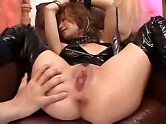 fingering squirting asian latex hairypussy fetish sextoys japanese jap