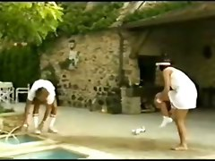 stockings hardcore blowjob wet pool pussylicking hairypussy pussyfucking sporty classic retro vintage