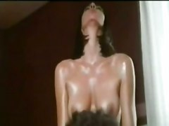 hardcore oiled brunette wet pussyfucking french massage bathing