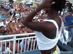 amateur public outdoor bikini party vacation college