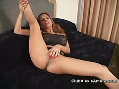 alexis amore dildo masturbation latina solo bigtits faketits silicon