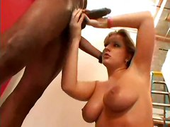 big tits blonde ass panties oil interracial kissing blowjob handjob face fuck gagging big dick rubbing pussylicking riding doggystyle cumshot facial deepthroat teasing tight