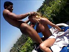 pornstar blonde big tits outdoor interracial big dick blowjob deepthroat face fuck hardcore riding doggystyle anal facial cumshot