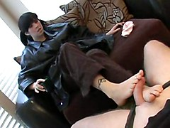 Handjob Footjob Amateur BJ HJ Feet Brunette