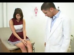 Horny Doctor Fucks Cheerleader Girl