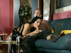 latex lingerie teasing blowjob handjob fingering pussylicking riding milf mom wife brunette cumshot piercing