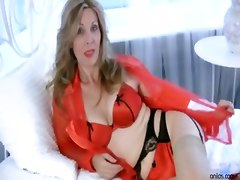 granny old mom mother masturbation solo cougar fingering