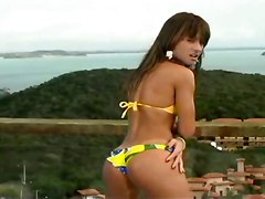 small tits brazilian latina outdoor public bikini brunette teasing blowjob handjob deepthroat gagging anal double penetration ass to mouth doggystyle riding cumshot facial tattoo pornstar tight skinny