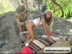 cumshot hardcore blonde outdoor blowjob bigtits pussyfucking