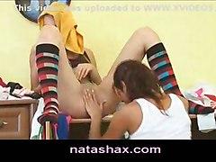 dildo lesbian teen petite toy masturbate russian shy natasha