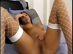 Babes Brunettes Stockings POV